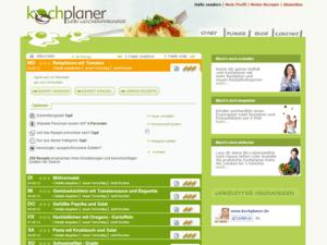 Screenshot Webdesign Beispiel wochenplaner 2