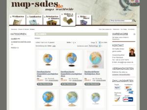 Globen Screenshot map-sales