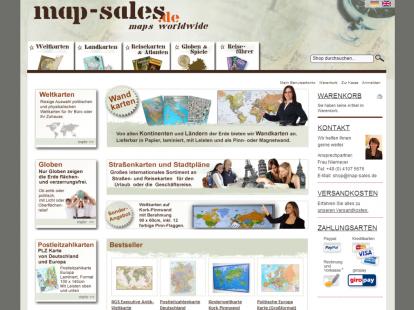 map-sales Magento E-Shop