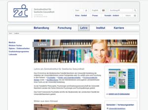 zi-mannheim Webdesign Lehre Webseite