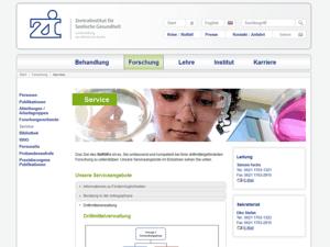 zi-mannheim Webdesign Service Webseite