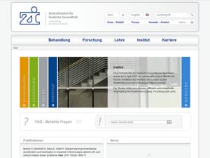 zi-mannheim Webdesign Startseite