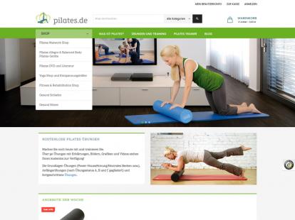 pilates.de Magento E-Shop