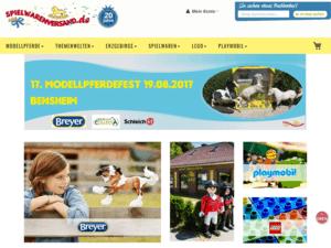 responsive Webdesign spielwarenversand.de Shop - Startseite