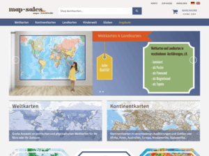 Relaunch Webdesign Magento Shop map-sales