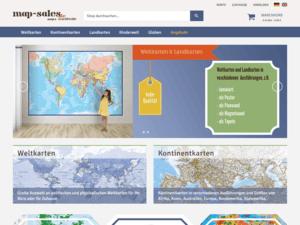 Relaunch Webdesign Magento Shop map-sales