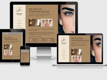 responsive Webdesign Kosmetik an der Rheinallee