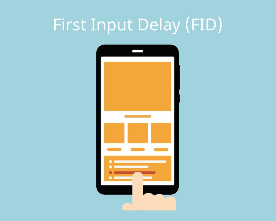 SEO Google Web Vitalis First Input Delay FID